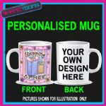 SHOPPING SPREE  DESIGN ADDICT CUTE LADIES MUG GIFT 001